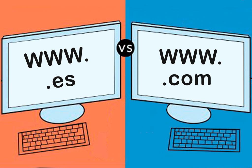 Extensiones .com vs .es