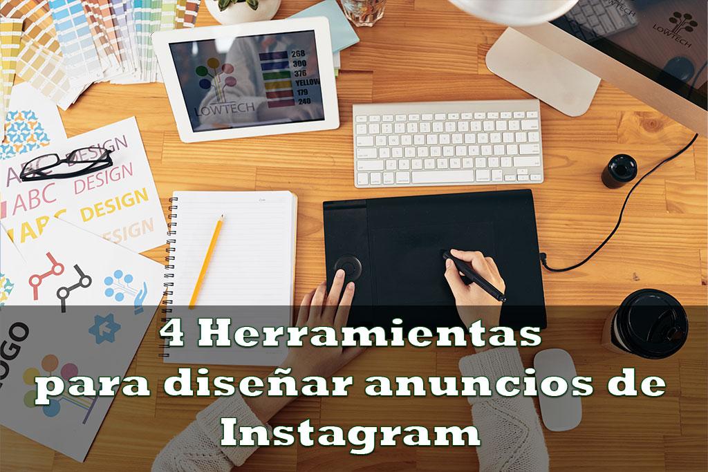 4 Herramientas de diseño de anuncios de Instagram
