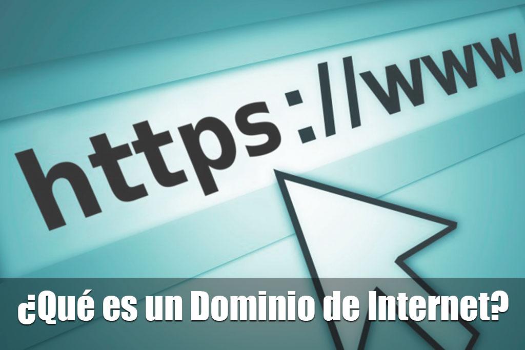 Que es un dominio de internet